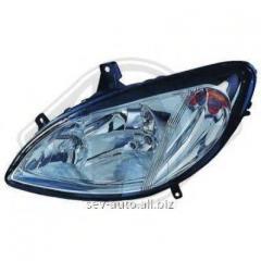 The main headlight, right, Vito (639) - Viano,