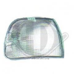 Lamp of the index of turn, white, left, VW T-4,