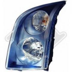Main headlight, left, VW Crafter, 2006>,