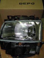 Main headlight, right, VW T-4, Depo 441-1129R