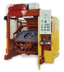Вибрационная машина CGM модель ТB для производства