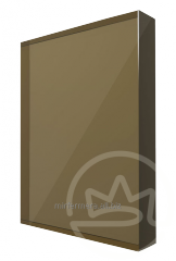 Monolithic polycarbonate 10 of mm bronze Soton