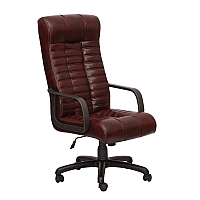 Chair office Atlantis CF Soft Madras Darc Brown