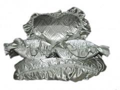 Pokrivalo (atlas) (180*2103 pillows) TM olive