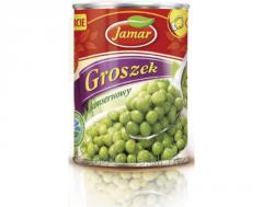 Peas tinned Jamar 400 gr Poland