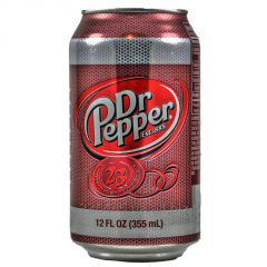Dr PEPPER Original drink highly carbonated toning