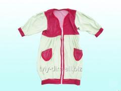 Dressing gown velor (XB02) of 48 rubles of TM of