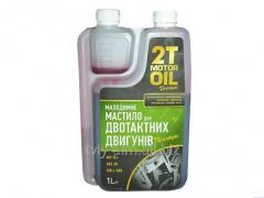 Oil for the chiansaw of 1,0 l of a nap_vsintetik