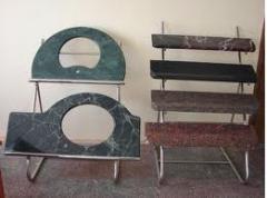 Изделия из мрамора (подоконники, столешницы).