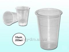 Bottle disposable 180 ml (10 pieces in unitary