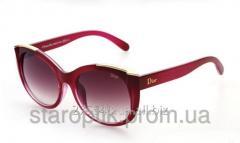 Женские солнцезащитные очки Dior 30  - красный