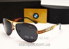 Мужские солнцезащитные очки BMW 603 цвет красный