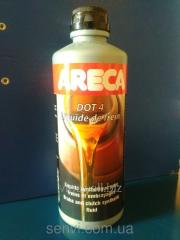 Areca DOT4 brake fluid, 500 ml