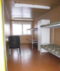 Домики вагончики, бытовки. Спальные помещения.