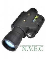 The device of night vision with IK a radiator of
