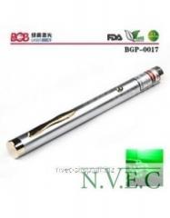 Green laser pointer of BOB Laser BGP-0017 - 532nm,