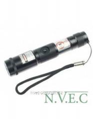 The green laser focused by BOB Laser BGP-3998 -