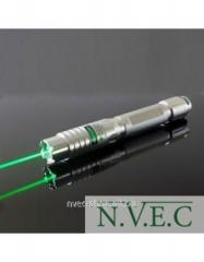 The green laser focused by BOB Laser GX7 - 532nm,