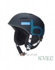 Alpine skiing helmet of B-Style Soft Black