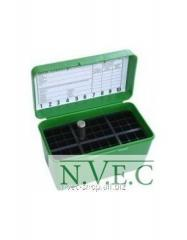 Case MTM for cartridges of 243 308 green 50
