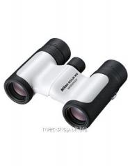 The Nikon 10x21 Aculon W10 field-glass is white
