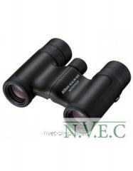 The Nikon 10x21 Aculon W10 field-glass is black