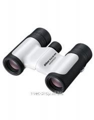 The Nikon 8x21 Aculon W10 field-glass is white