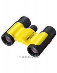 The Nikon 8x21 Aculon W10 field-glass is yellow