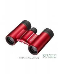 The Nikon Aculon T01 10x21 field-glass is red