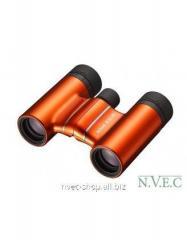 The Nikon Aculon T01 8x21 field-glass is orange