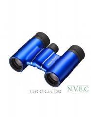 The Nikon Aculon T01 8x21 field-glass is blue