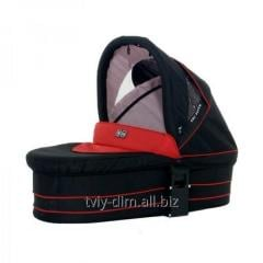 Cradle for a carriage of Abc Zoom, Cherry-Black