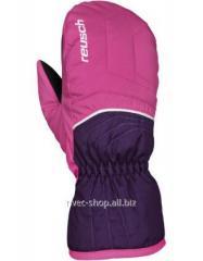 Alpine skiing Reusch Aron Junior Mitten gloves - 4