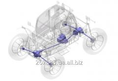 Transmission for agricultural machinery