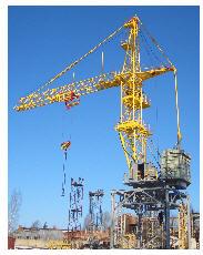 KBM-401PA-40 tower cranes