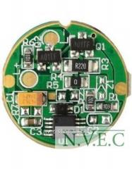 The digital driver of a light-emitting diode for
