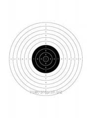 Target No. 9 for air guns of 10 m the Article:
