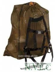 Allen bag backpack from a grid for carrying of