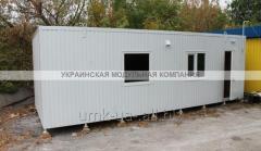 Trade pavilion, booth, MAF of 8х3 m economy class
