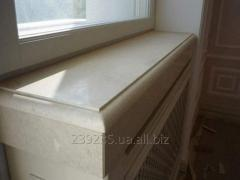 Window sill from marble and granite
