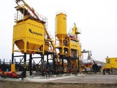 Installation asfaltosmesitelny on natural gas with