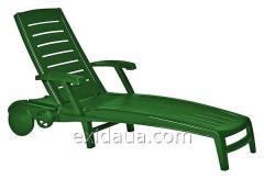 Шезлонг Time Eco Sparta зеленый