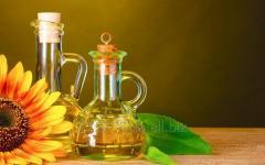 Масло подсолнечное рафинированное (бутылирова