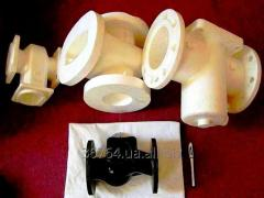 Decorative and technical castings. Benches, lamps