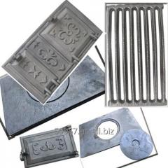 Doors, grid-irons, plates pig-iron