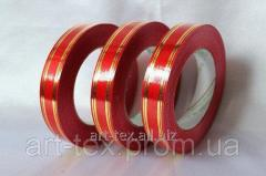 "Tape floristic ""Metal 2/50"" Red"