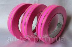 """Tape floristic """"Metal 2/50"""" Pink"""