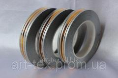 "Tape floristic ""Metal 2/50"" Grey"