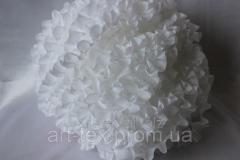 Ruches - silk, 5sm*50m White