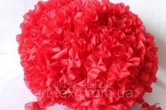 Ruches - silk, 5sm*50m Red